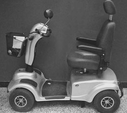 Elektrische scooter 4 wielen