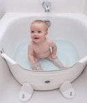 Babydam bath elevator Réducteur de baignoire (white green)  (1)