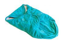 Voetenzak Fleece blauw-groen (175)