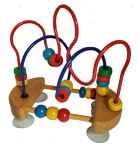 * Toy / Kralenframe met zuigknappen (411)