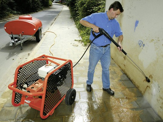 Cold Pressure Washer 230 Bar