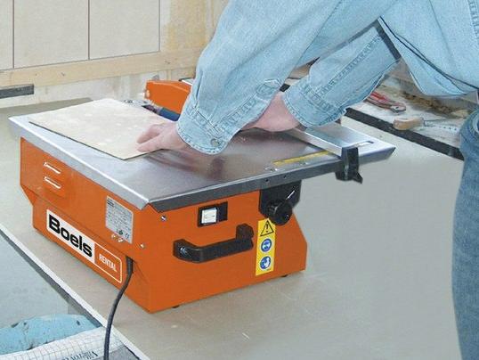 Tegelzaagmachine tot 40 mm