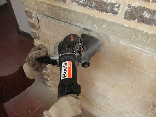 Brick and mortar saw, electric, 230 v