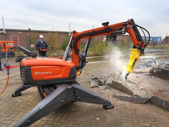 Demolition Robot, 22 Kw, 400 V