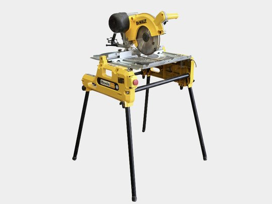 Flip-over table / mitre saw