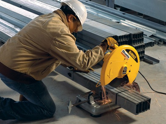 Cut-off saw, stationary