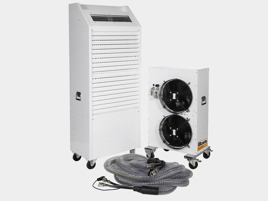 Air Conditioning Unit, 15 Kw, Water-Cooled, With Outdoor Housing