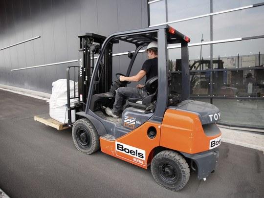 Chariot Élévateur Diesel 2,5 Tonnes