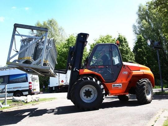 Chariot Élévateur Pour Terrains Difficiles 5 Tonnes