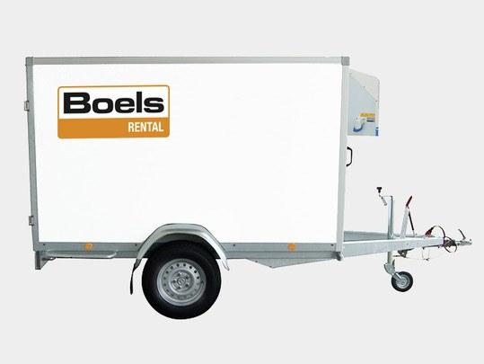 Refrigerated Van, Single Axle