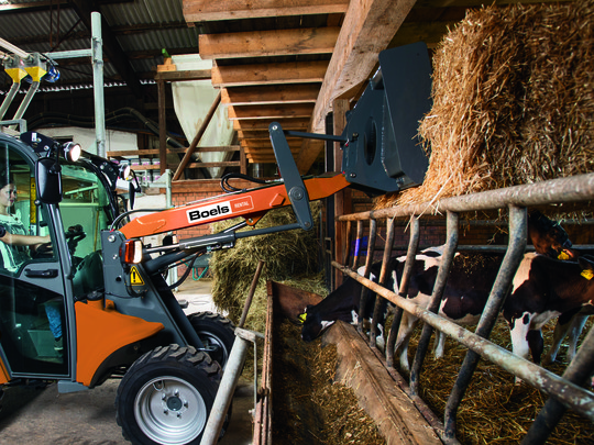 Manure Fork With Grab 140 Cm