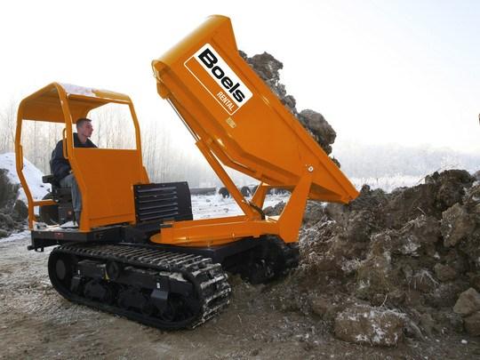 Dumper 2.5 Tonne Caterpillar Track