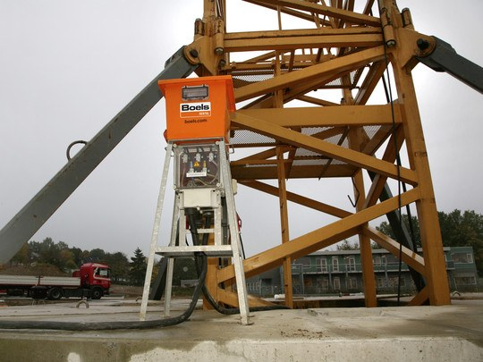 Crane Terminal Box 400 A