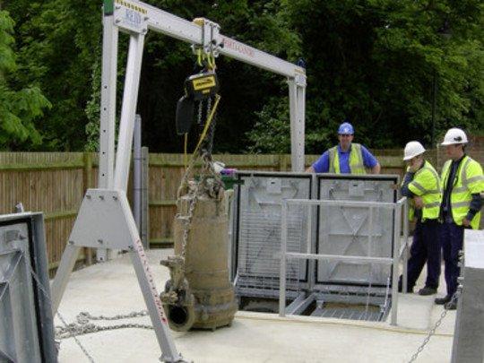 Portiques De Levage Aluminium 2 Tonnes