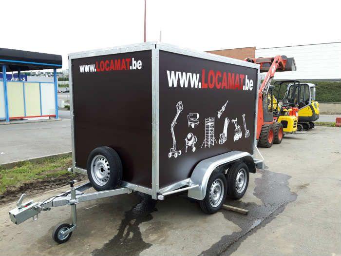 750kg van trailer, 2 axles (1)