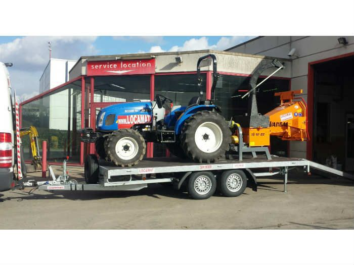 Equipment carrier trailer  (1)
