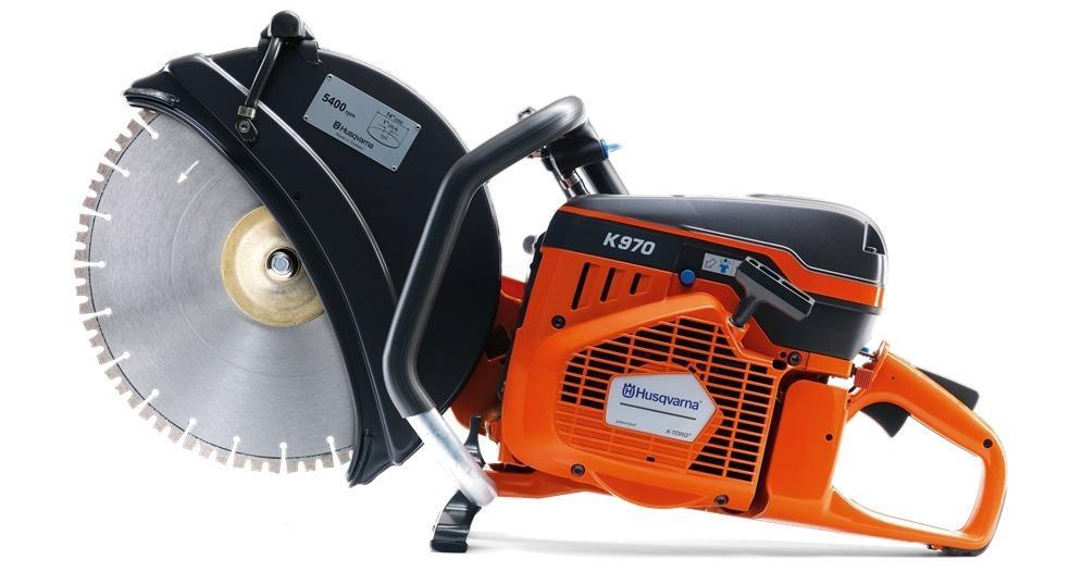 Discus machine 400mm petrol 2t dry or wet 145cm max. (1)
