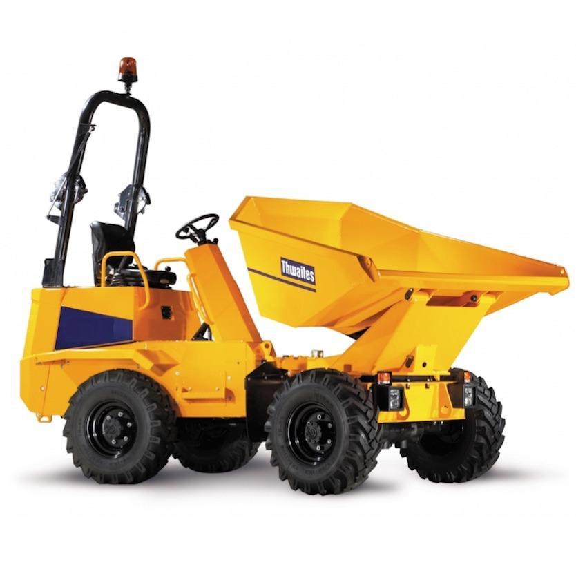 Dumper 9t capacity 7,5t wide2,40m 4x4 diesel, tipping body (1)