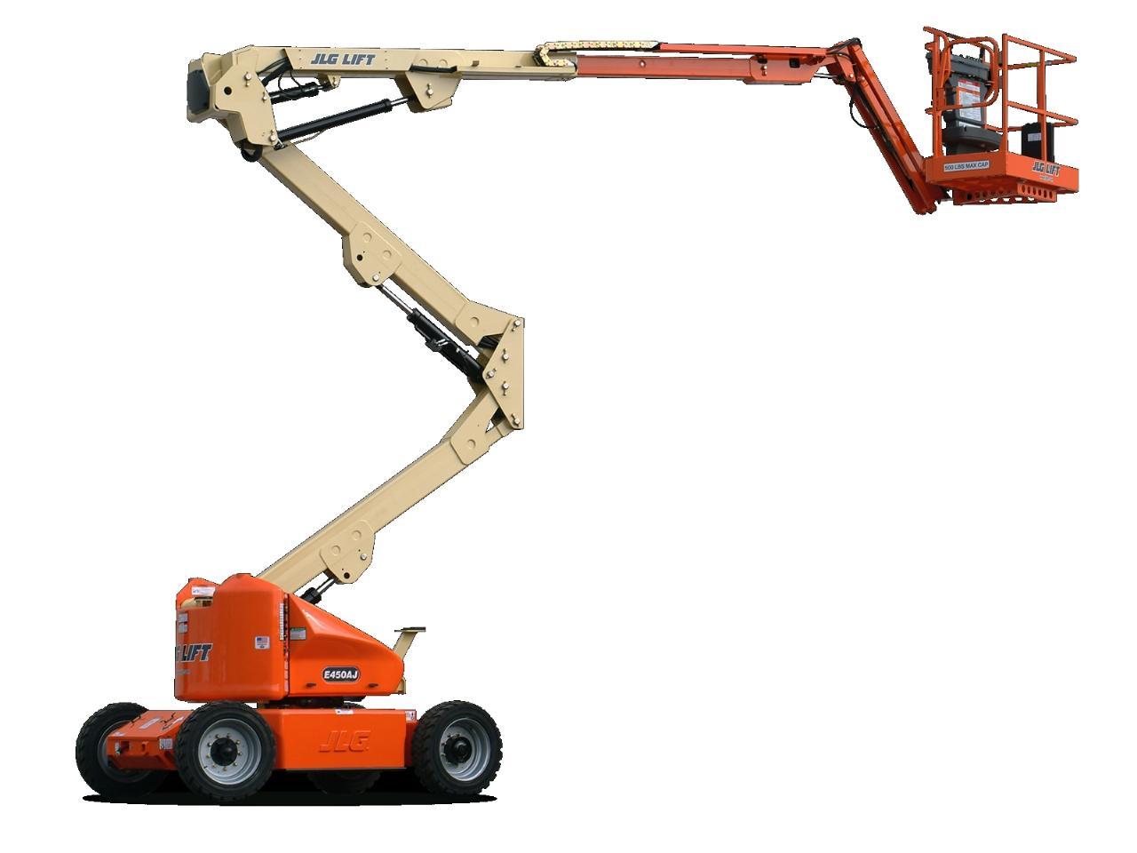 Nacelle automotrice hauteur 15,5m batterie 220v a bras articule + telescope + boom