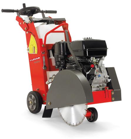 Gasoline floor saw (1)