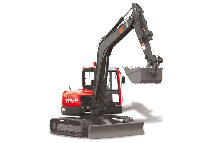 Mini Excavator on crawlers (1)