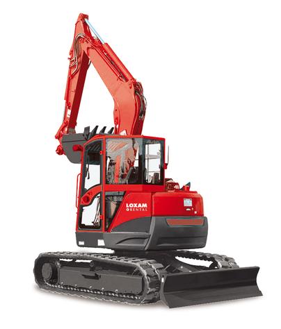 Crawler excavator (1)