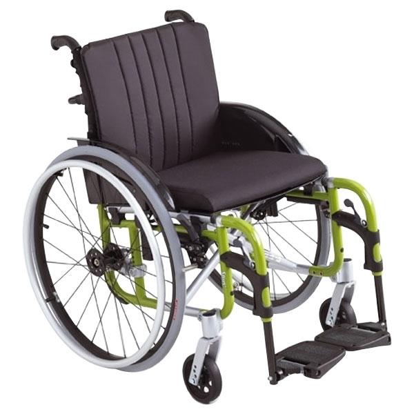 Foldable wheelchair – grey