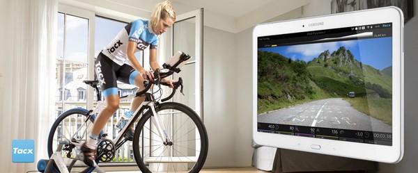 Hometrainer bike/training base