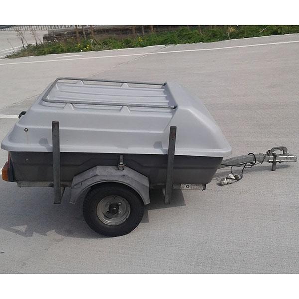 Bagage aanhangwagen (130x100cm)